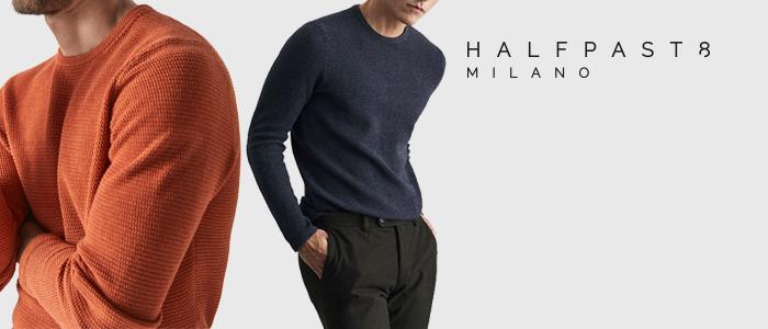 HALFPAST8 P/E 2018: maglieria uomo