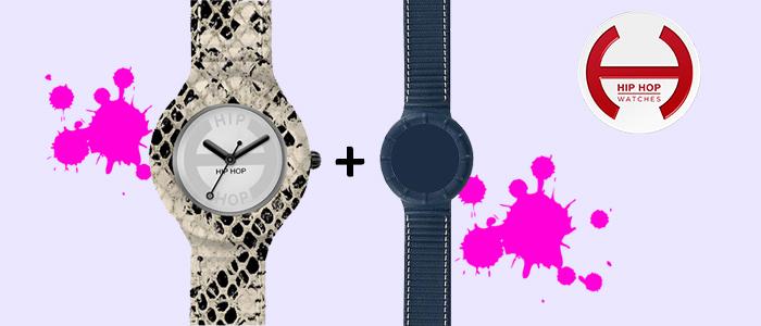 Hip Hop Watches: orologio più cinturino omaggio