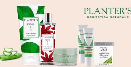 Planter's cosmetica naturale: viso, mani e corpo