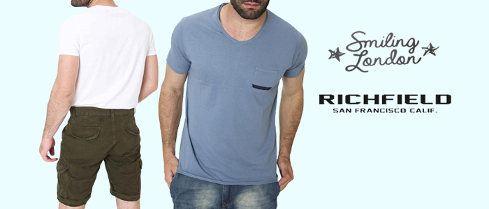 Richfield e Smiling London: New Collection