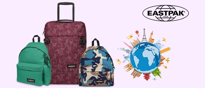Eastpak P/E 2018: zaini, trolley e accessori