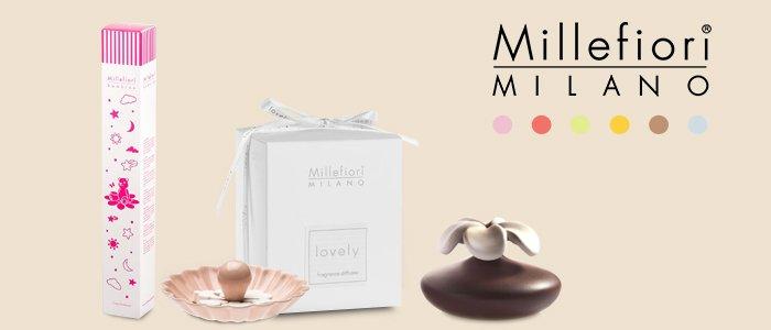 Millefiori Milano: Diffusori, Milledy, Linea Bimbo