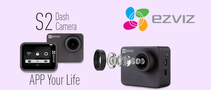 Ezviz Dash&Action Camera