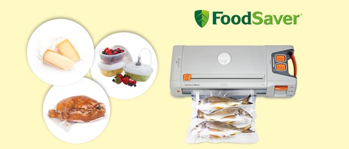 FoodSaver: Sistema di sigillatura sottovuoto