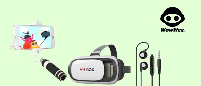 WowWee: accessori telefonia e visore per smartphone