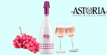 Astoria Cold Wine Pink - Spumante Rosé