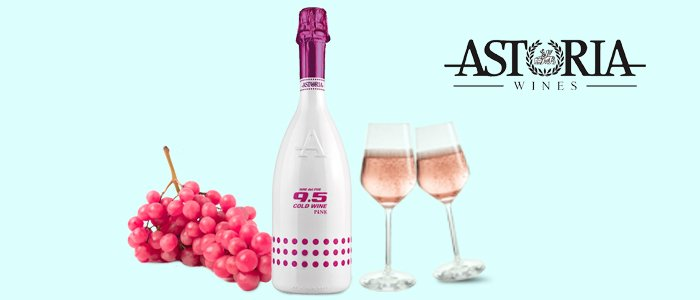 Astoria Cold Wine Pink - Spumante Rosé