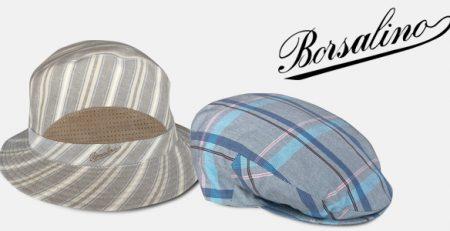 Borsalino cappelli estivi uomo e donna