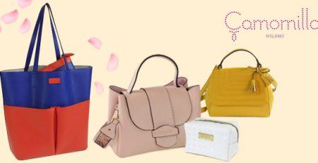 Camomilla Primavera/Estate 2018: borse, pochette e beauty case