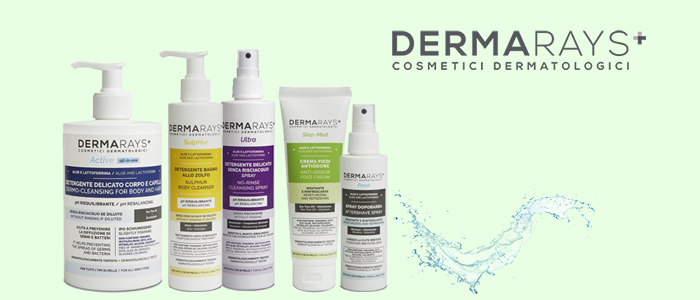 Dermarays: trattamenti per pelli sensibili