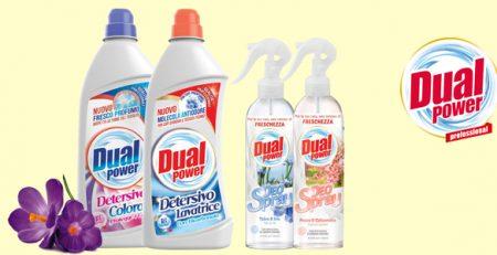 Dual Power detergenti pulizia casa