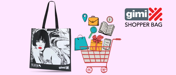 Gimi shopper bag Valentina by Crepax