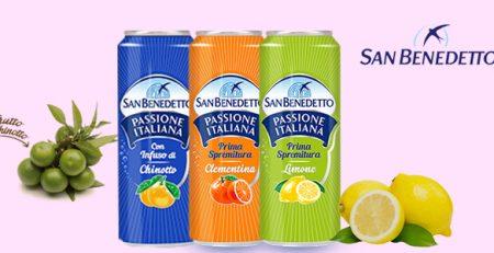 San Benedetto bibite gassate: chinotto, clementina e limone