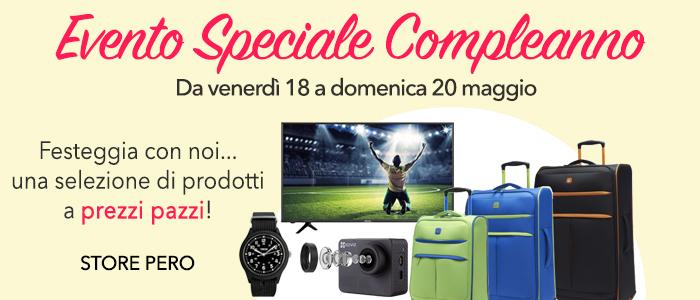 Speciale 4° Compleanno Store Pero