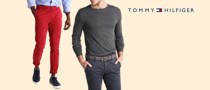 Tommy Hilfiger pantaloni e cinture uomo