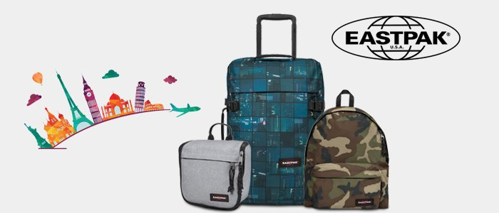 Eastpak valigie, trolley e zaini - Estate 2018