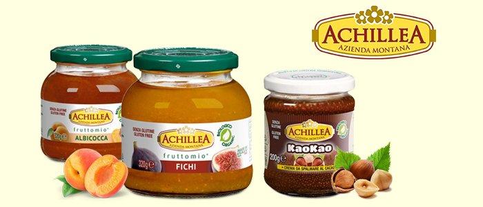 Achillea Fruttomio: Marmellate BIO e Crema Spalmabile