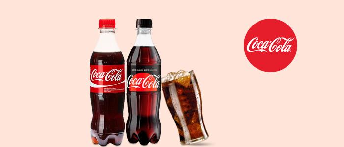 Coca-Cola gusto classico e Coca-Cola Zero 500ml