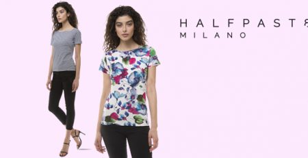 HALFPAST8® t-shirt donna