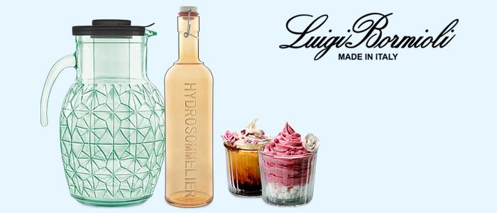 Luigi Bormioli: calici, bicchieri e caraffe
