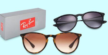 Ray-Ban sunglasses: Aviator e Wayfarer