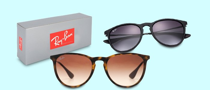 Ray-Ban sunglasses: Aviator e Wayfarer