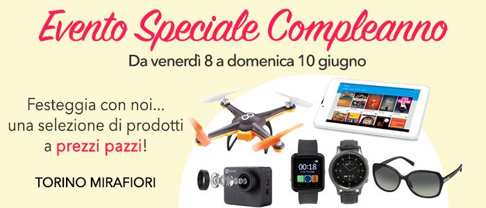 Speciale 4° Compleanno Store Torino