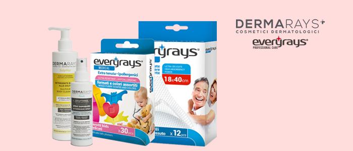 Everyrays e Dermarays: parafarmacia e cura della persona