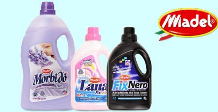 Madel bucato: ammorbidente e detersivi liquidi