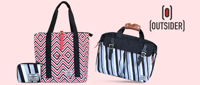 Outsider: borse, portafogli e accessori