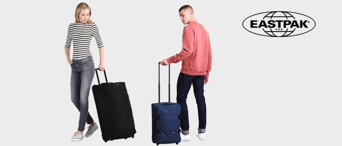 Parti con Eastpak: trolley e valigie