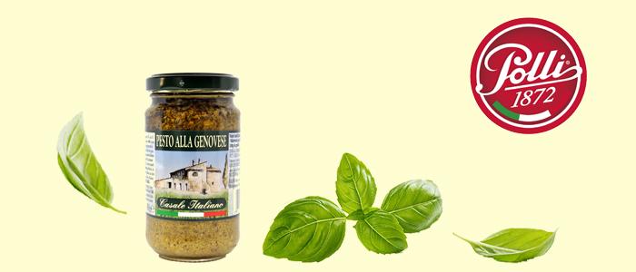 Polli casale italiano: pesto alla genovese 190g
