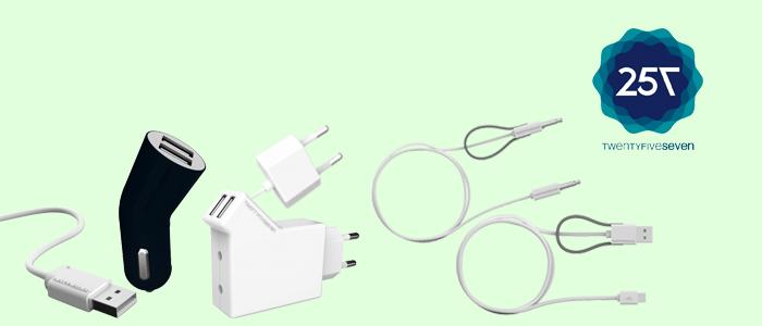 Twentyfiveseven caricabatterie e accessori