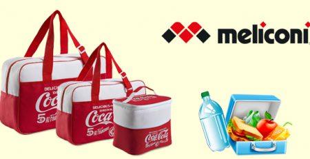 Borse termiche Meliconi firmate Coca-Cola