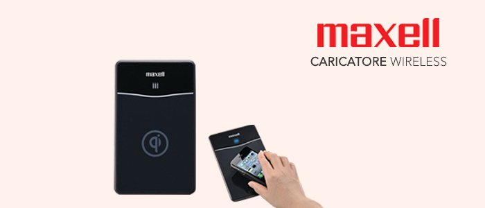 Maxell Caricatore Wireless Air Voltage