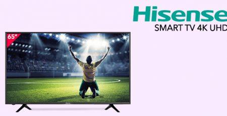 """Speciale Promozione Hisense 65"""" Smart TV 4K UHD"""