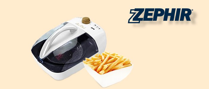 Zephir Air Chef: Robot Multicottura 1300W