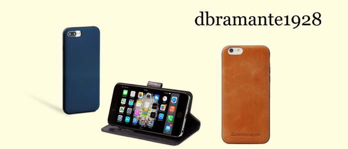 dbramante1928 cover in pelle per iPhone