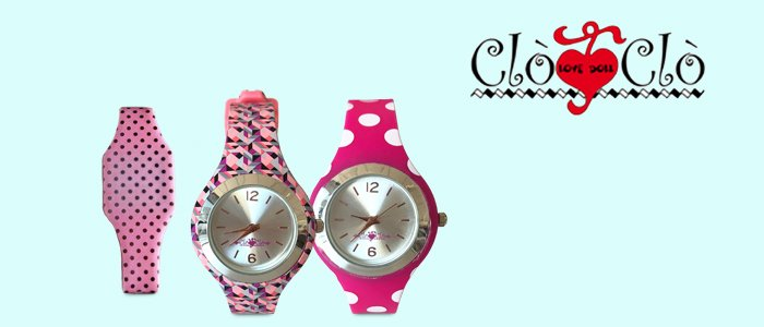 Clò Clò orologi donna in silicone