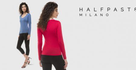 HALFPAST8® donna maglieria viscosa