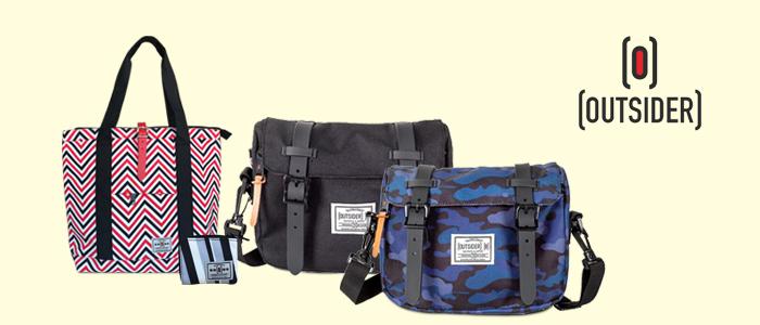 Outsider: borse e accessori