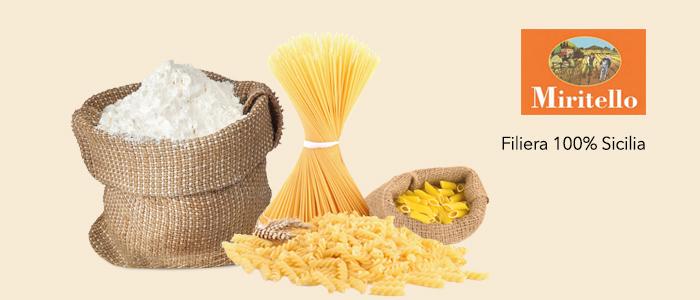 Promozione Miritello: pasta di semola di grano duro filiera 100% Sicilia