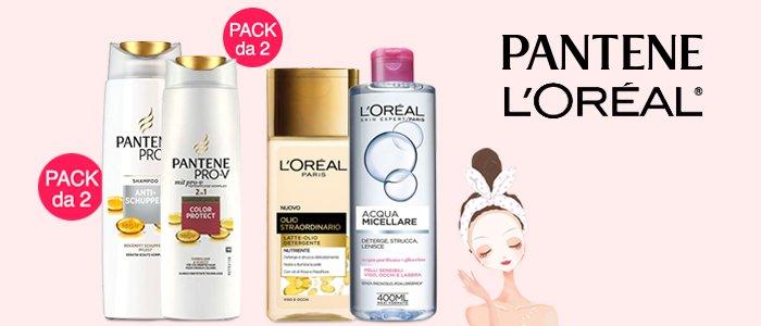 Speciale cura della persona: L'Oréal e Pantene