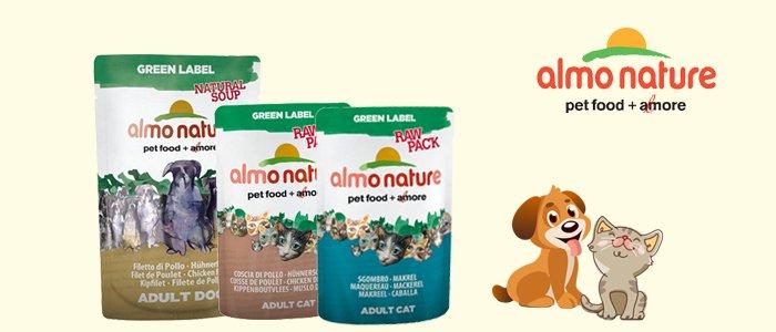 Pet Food Almo Nature: cibo per cani e gatti