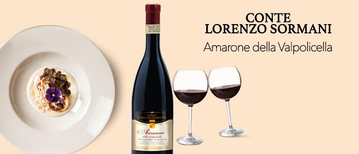 Amarone della Valpolicella DOCG - Conte Lorenzo Sormani