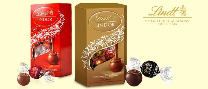 Lindt Lindor praline al cioccolato