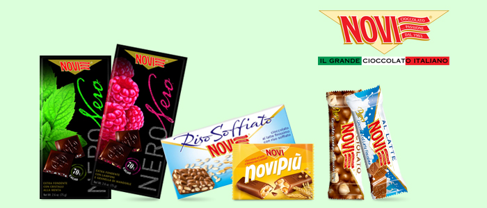 Novi Cioccolato - Dolci Novità