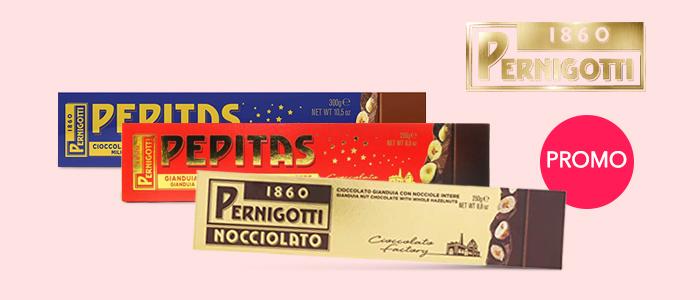 Promozione 2x1 Pernigotti Pepitas