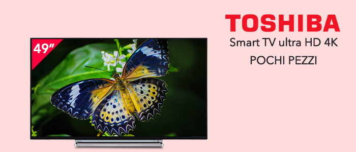 "TV Toshiba 49"" 49V6763DA Ultra HD 4K"