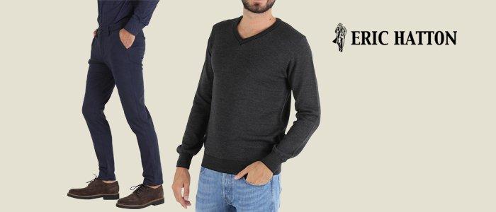 Eric Hatton: maglie caldo cotone e pantaloni dobby